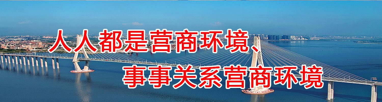 湛江市营商环境整治提升年宣传标语