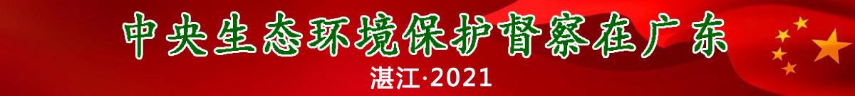 中央生态环境保护督察在广东2021湛江专题