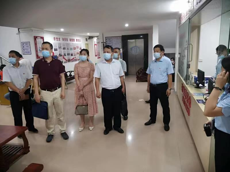 湛江市人民政府行政服务中心到廉江市行政服务中心开展调研活动