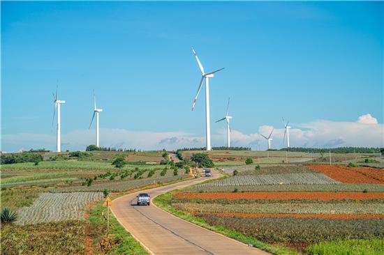 """徐闻大力发展风电项目打造""""风车的海"""""""
