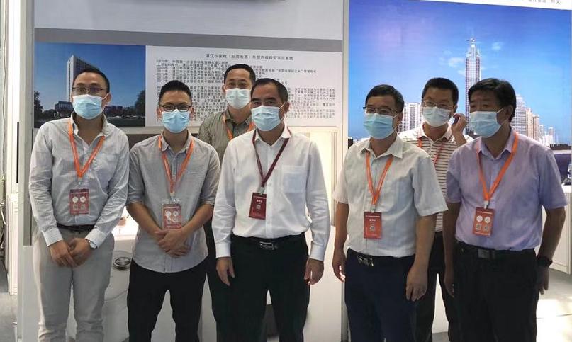 湛江市商务局局长余庆创同志率队参加2021广东21世纪海上丝绸之路国际博览会
