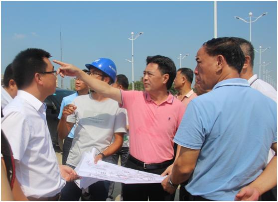 林海武局长带队检查督导国庆节前疫情防控及安全生产工作
