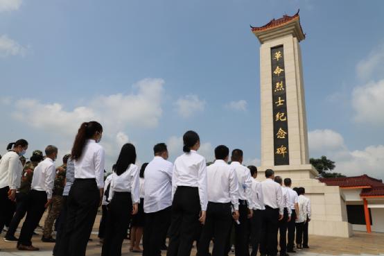 """湛江市退役军人事务局开展""""930烈士纪念日""""公祭活动"""