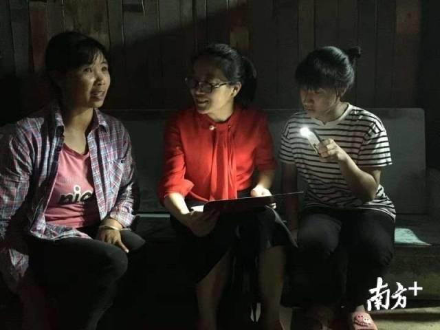 她是廣東赴桂唯一駐縣女干部!扶貧工作一干就是三年多