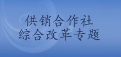 广东省供销合作社改革专题